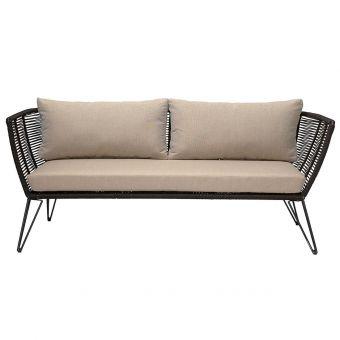 Bloomingville Sofa schwarz
