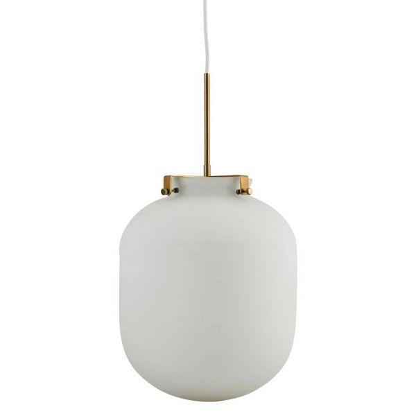 House Doctor Lampe Ball weiss