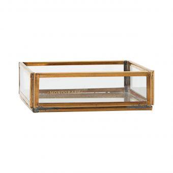 Monograph Glasbox Ablage