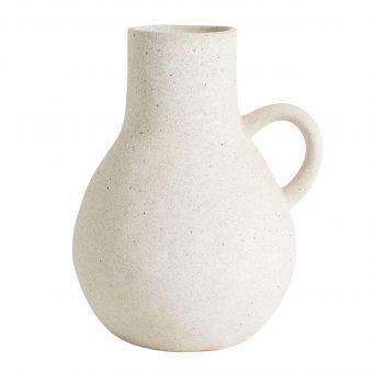 Nordal Vase Eldey weiss