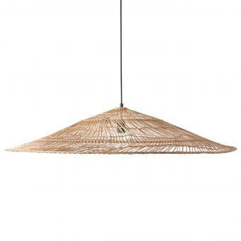 HKliving Lampe Weidengeflecht XL