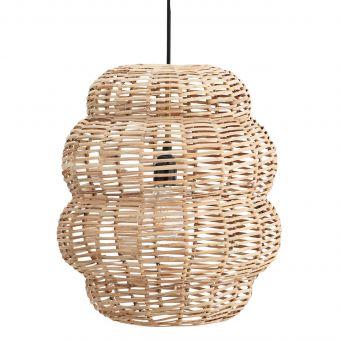 Madam Stoltz Bambus Lampe Curved