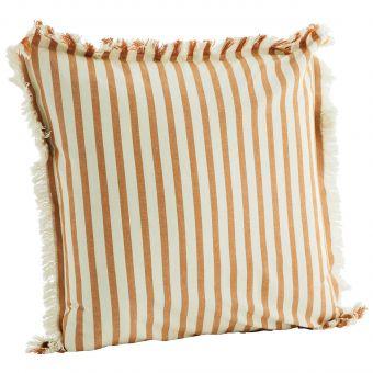 Madam Stoltz Kissenhülle Stripe honig