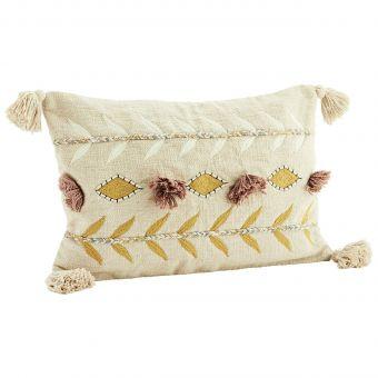 Madam Stoltz Kissen Embroidery