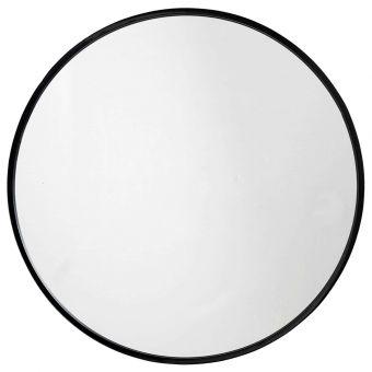 Nordal Spiegel schwarz rund