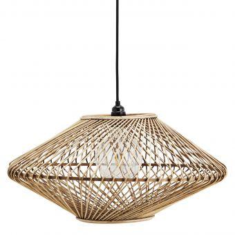 Madam Stoltz Lampe Bambus weit