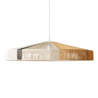 HKliving Lampe Rope black stripe