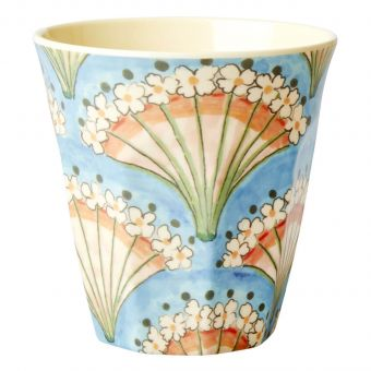 Rice Melamin Becher Flower Fan