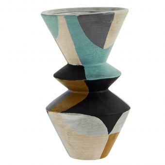 Madam Stoltz Terracotta Vase Mix L