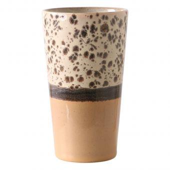 HKliving 70's Latte Becher Tropical