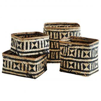 Madam Stoltz Bambus-Korb Sets