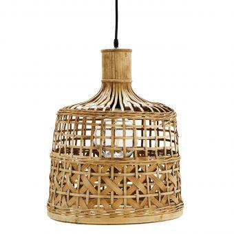 Madam Stoltz Lampe Bambus neu