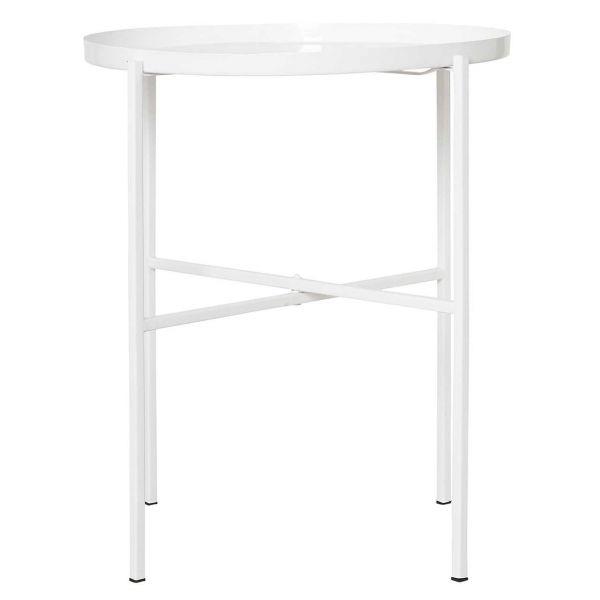 House Doctor Tablett Tisch All White 55 cm
