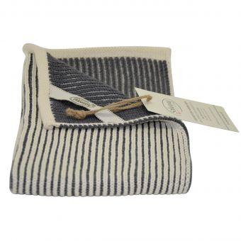 Solwang Handtuch Rib natur-grau
