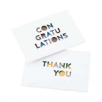 Monograph Karten Set Congratulations