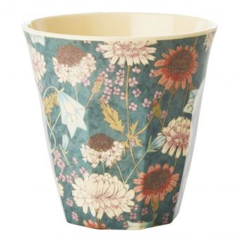 Rice Melamin Becher Fall Flower