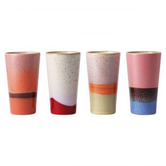 HKliving Latte Becher Set 70's