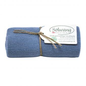 Solwang Handtuch antik blau