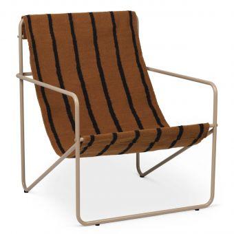 Ferm Living Desert Chair Stripe cashmere