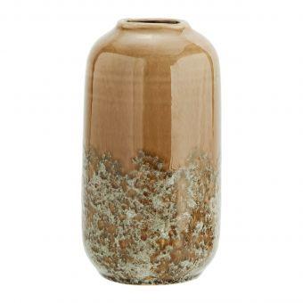 Madam Stoltz Vase bronze-braun
