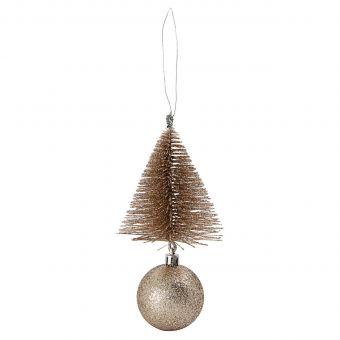 House Doctor Kugel Tree & Bell sand