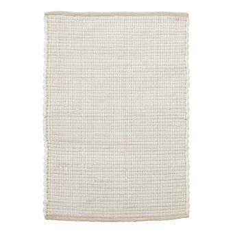 House Doctor Teppich Chindi weiss 60 x 90 cm