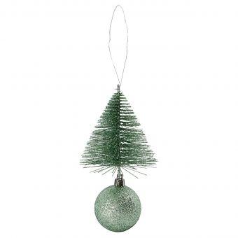 House Doctor Kugel Tree & Bell dusty green