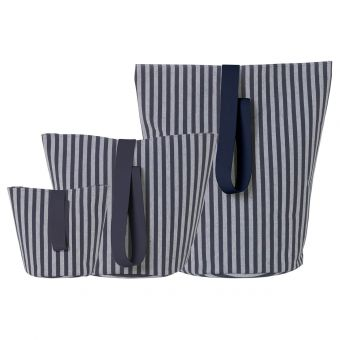 Ferm Living Korb Chambray Stripe