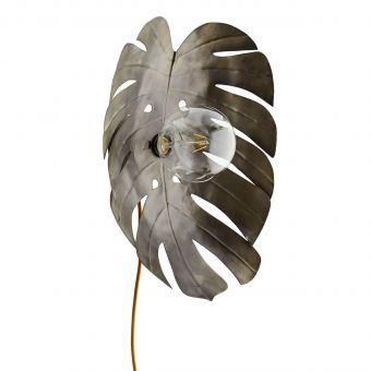 Madam Stoltz Wandlampe Monstera