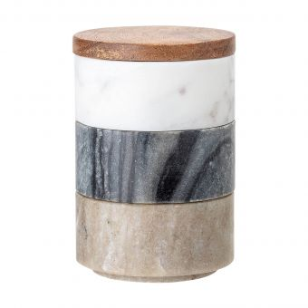 Bloomingville Dosen-Set Marmor