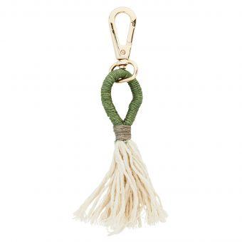 Madam Stoltz Schlüsselanhänger Naidisha grün