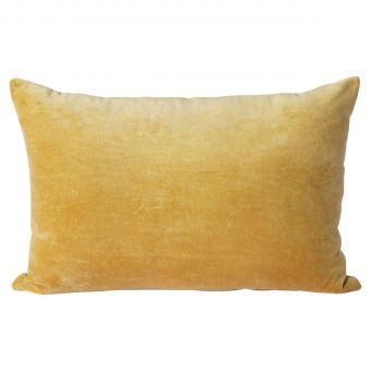 HKliving Kissen Samt gold-gelb