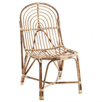 Madam Stoltz Lounge-Stuhl Bambus Bow