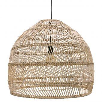 HK Living Lampe Weidengeflecht natur 60 cm