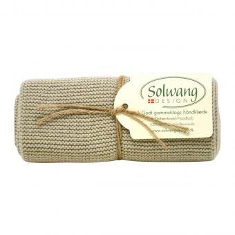 Solwang Handtuch Bio oliv