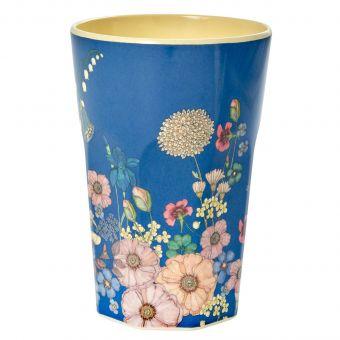 Rice Melamin Becher Flower Collage L