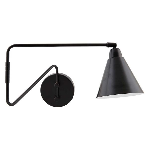 House Doctor Wandlampe Game Flex schwarz