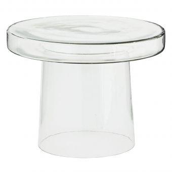 Madam Stoltz Beistelltisch Glas
