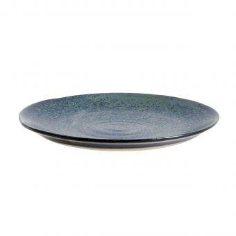 Nordal Teller Grainy blau 14,5 cm