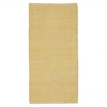 Liv Interior In-/Outdoor Teppich Herringbone gelb 70 x 140 cm