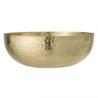 Bloomingville Metallschale gold