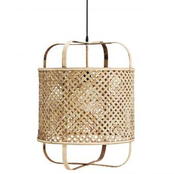 Madam Stoltz Bambus Lampe offen