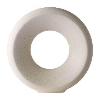 HKliving Vase Circle weiss