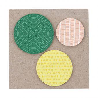 Monograph Haftnotizen Sticky Dots
